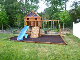 diy playground ideas for backyard design and ideas