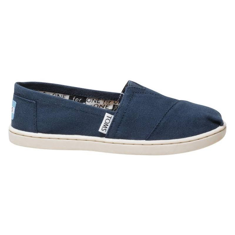 TOMS Canvas Original 2.0 Youth Navy (10010532) (12.5)