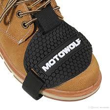 motocross half boots 2017 black rubber motocross shift pad motorcycle gear shifter shoe