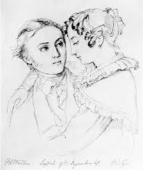 Adelheid Müller war die Frau des Dichters Wilhelm Müller, der heute vor allem durch Franz Schuberts Vertonungen seiner Gedichte bekannt ist. - 2501