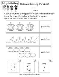 printable halloween worksheets free printable halloween counting worksheet for kindergarten