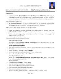 Resume Examples  Sample Resume for Engineering Internship
