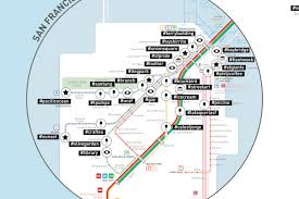 San Francisco Bart Map Mapping Sf By Its Most Popular Instagram Hashtags Curbed Sf
