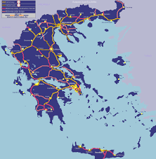 Google Maps Greece by Greece Online Maps Geographical Political Road Railway
