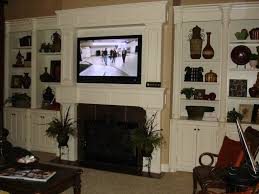 Hidden Cable Tv Wall Mount How Should I Run Wiring For My Above Fireplace Mounted Tv Home