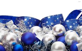 Christmas Tree Decorations Blue And Silver Blue And Silver Christmas Backgrounds U2013 Happy Holidays