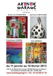 Corinne Capitaine à Artistic Garage par mirota le 12/01/13 dans général. Corinne Capitaine à Artistic Garage. Corinne expose en compagnie des peintres ... - 64fc7d6bd8b28ff020169dd9c306654d7c3332f9