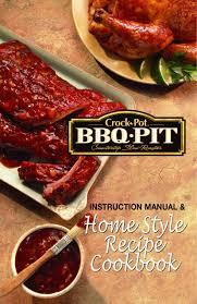 crock pot bbq ribs instruction manual and home small