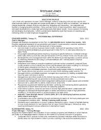 Director Of It Resume Examples by Resume Examples For Operations Manager Assistant Operations