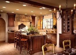 wonderful english kitchen style with wooden cabinetry and storage