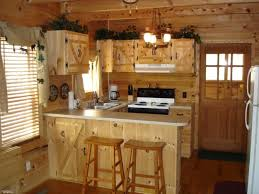 Country Kitchen Tile Ideas Rustic Country Kitchen Designs L Shaped Beige Painted Honey Maple