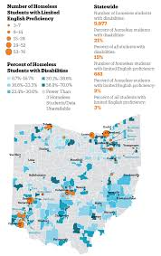Toledo Ohio Zip Code Map by Ohio Has 27 000 Homeless Students Just Over Half Outside Cities