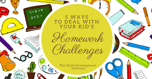 How To Help Your Child With Homework Child Development Institute   Ways to Deal with Your Kid     s Homework Challenges