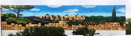 Deco Mur Exterieur Jerc Décoration D U0027un Mur 8mx2m En Extérieur à Conilhac Corbières