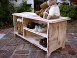 Wood Shoe Shelf Storage Bench Wooden Furniture by honeystreasures