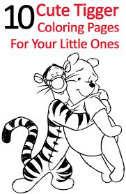 top 25 free printable tigger coloring pages online tigger