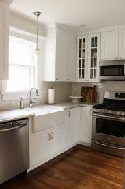 best 25 small white kitchens ideas on pinterest small kitchens