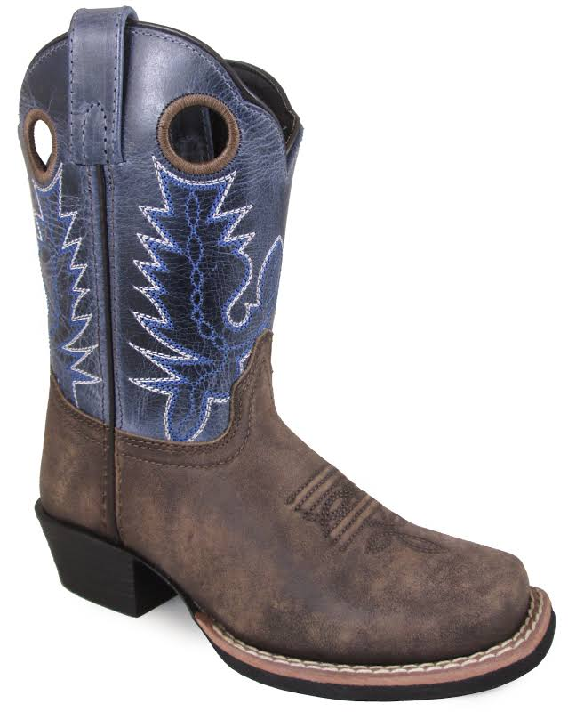 Smoky Mountain Childs Mesa Square Toe Boots 2.5