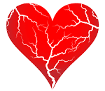 Cracked <b>heart</b>