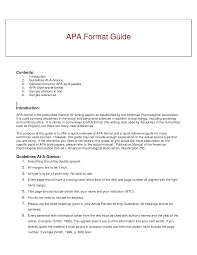 How To Title Resume Apa Format Resume Active Resume Format Examples Of Resumes Basic