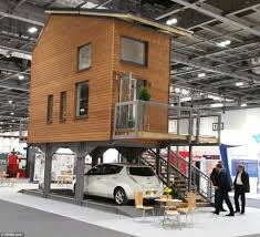 architect bill dunster designs tiny flats to stand on stilts to