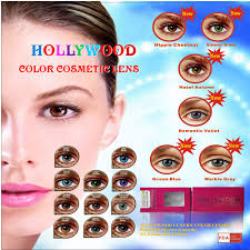 yearly unsing top quality sale hollywood color contact lenses