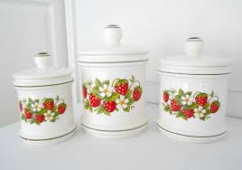 strawberry kitchen decor theme ceramics gallery with images