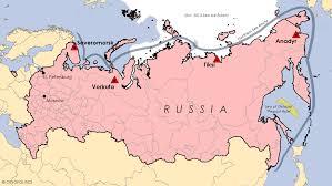 Former Soviet Union Map 24 October 2014 Cryopolitics