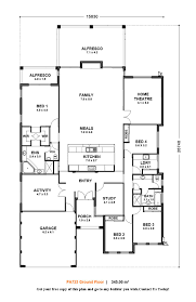 Small 3 Bedroom House Floor Plans by Designs Homes Design Single Story Flat Roof House Plans South