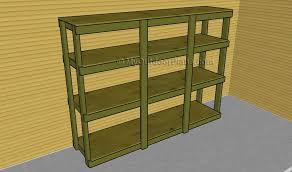 Building Wood Shelves For Storage by Garage Shelving Plans Myoutdoorplans Free Woodworking Plans