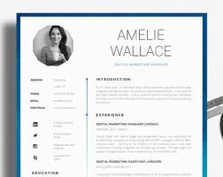 Kallio   Free Simple Resume Template for Word  DOCX      CVTemplated com