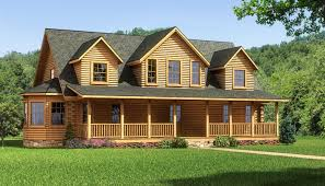 Log Cabin Style House Plans The Lawrenceburg