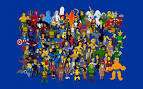 heroes tv series geek the simpsons 1920x1200 wallpaper