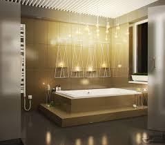creative bathroom lighting interior design ideas