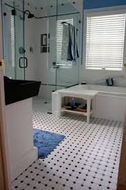 bathroom tub shower tile ideas brown pattern valance in corner