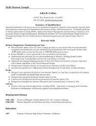 Skills Resume Example Skills To Put On Resume For S Resume Resume     Brefash