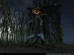halloween background 1366x768 scarecrow wallpaper wallpapersafari