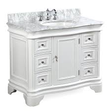 Bathroom Vanity 42 by Katherine 42 Inch Bathroom Vanity Carrara White Includes White