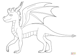 spyro the dragon coloring page free printable coloring pages