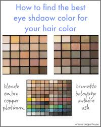 Best Color Codes Best Eye Shadows For Your Hair Color