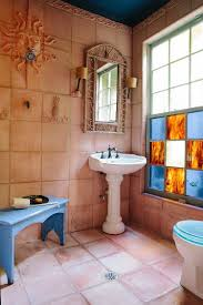 designs ideas bathroom design with pedestal sink and small wall