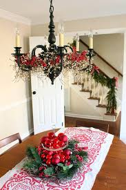 Christmas Home Decorations Pictures Best 25 Christmas Chandelier Decor Ideas On Pinterest Christmas
