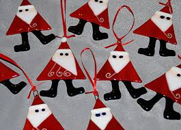 picture of fused glass christmas ornaments all can download all