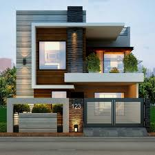 Villa Modern by Modern Architecture Modern House Front Elevation Designs Google