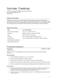 Sample Resume For A High School Graduate With No Work Experience     chiropractic