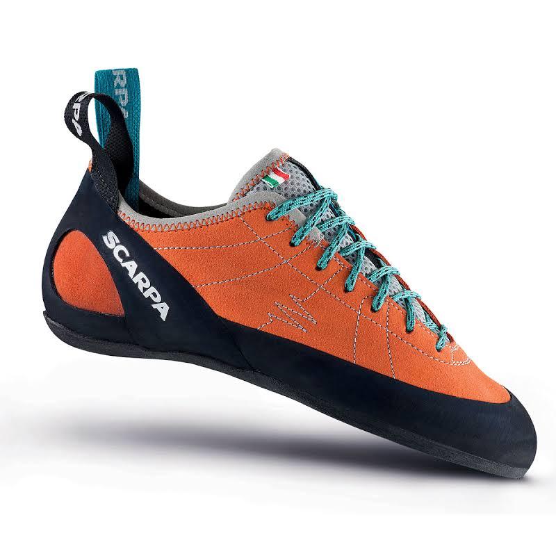 Scarpa Helix Climbing Shoes Mandarin Red Medium 41.5 70005/002-Mred-41.5