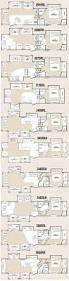 Fifth Wheel Bunkhouse Floor Plans Best 5th Wheel Floor Plans Fifth Wheel Floorplans Camping
