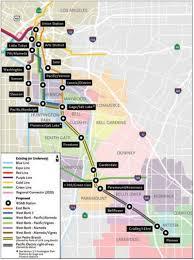 Los Angeles Light Rail Map by Metro Exploring New Options For West Santa Ana Branch Urbanize La