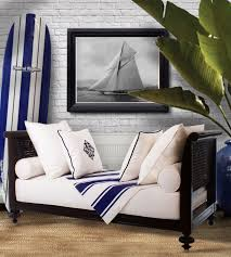 crafted from sustainable mahogany madras daybed nautical home