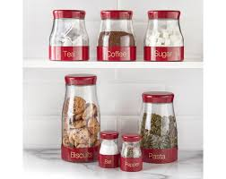 Kitchen Canisters Red 100 Red Canister Sets Kitchen Ceramic Kitchen Canister Sets